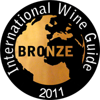 2011 - Bronze Medal at the International Wine Guide