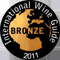 2011 - Medalha de Bronze no International Wine Guide