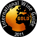 2011 - Medalha de Ouro no Internatinal Wine Guide