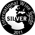 2011 -Silver Medal in International Wine Guide