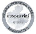 2012 - Medalha de Prata no Mundus Vini