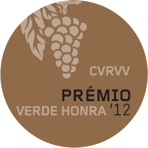 2012 - Honra (Honour) Medal at the Vinhos Verdes competition for Loureiro single varietal
