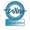 2010 – Commended Medal at the International Wine Challenge.