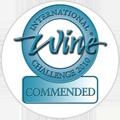 2010 - Medalha 'Commended' no International Wine Challenge.