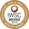 2010 – Bronze Medal at the International Wine & Spirit Competition.