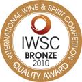 2010 - Medalha de Bronze no International Wine & Spirit Competition.